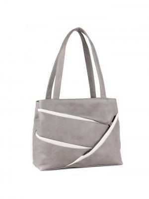 Сумка Miss Bag. Цвет: серый