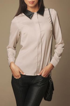 Рубашка Ambigante. Цвет: бежевый
