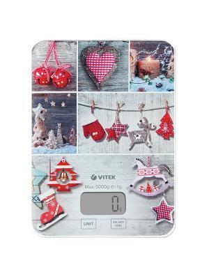 Кухонные весы Vitek VT-8019(MC). Цвет: серый
