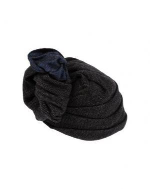 Головной убор SUPER DUPER HATS. Цвет: темно-коричневый