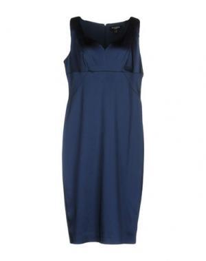 Платье до колена CHIARA D'ESTE. Цвет: темно-синий