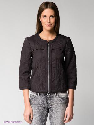 Куртка Calvin Klein. Цвет: темно-коричневый