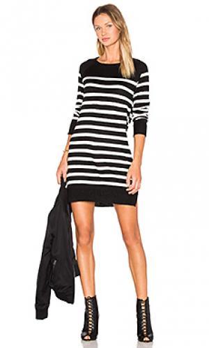 Мини платье grandview cupcakes and cashmere. Цвет: black & white