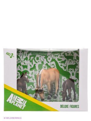 Набор фигурок Animal Planet MOJO. Цвет: зеленый