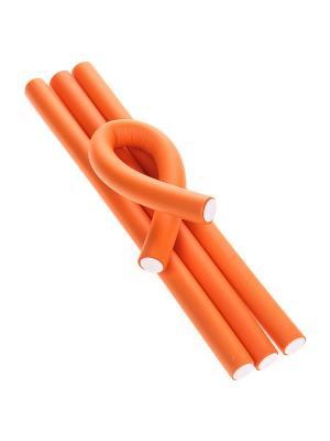 Бигуди (4 шт.) Migura. Цвет: оранжевый