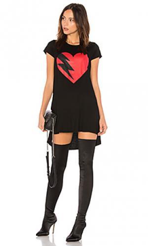 Платье mirabella Lauren Moshi. Цвет: черный