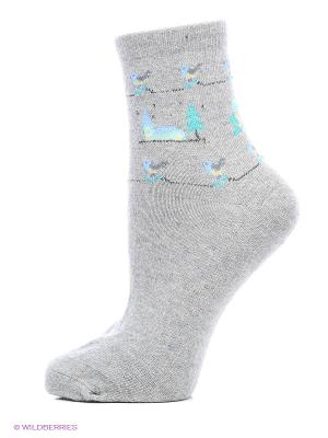 Носки 2 пары Master Socks. Цвет: синий, серый