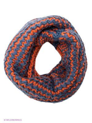 Снуд Lovely Jewelry. Цвет: синий, оранжевый
