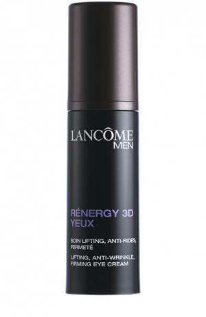 Крем для кожи вокруг глаз от морщин Rénergy 3D Yeux Lancome. Цвет: бесцветный