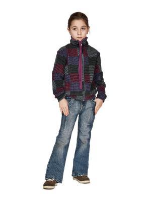Куртка флисовая 220 МИКИТА. Цвет: черный, серый, серый меланж, сливовый, темно-фиолетовый