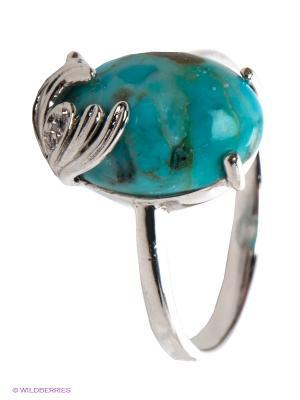 Кольцо Art Silver. Цвет: голубой, серебристый