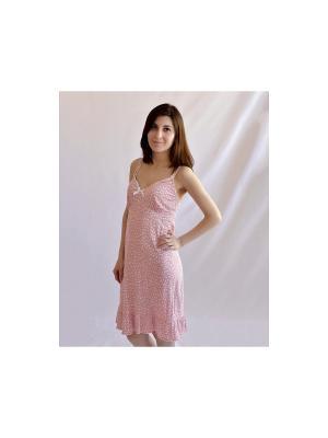 Сорочка MARIPOSA. Цвет: розовый