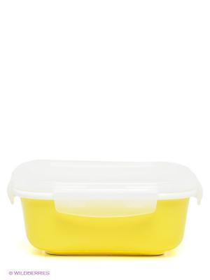 Контейнер Frybest. Цвет: желтый, прозрачный