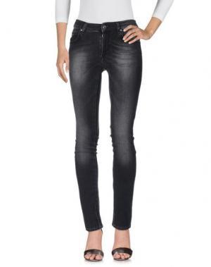 Джинсовые брюки IT'S MET. Цвет: черный
