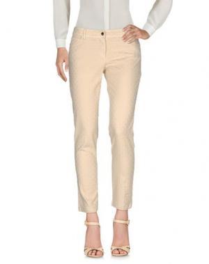Повседневные брюки ACCIAIO. Цвет: бежевый