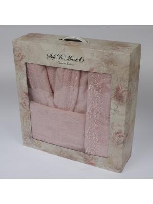 Linda (роз) L-XL Комп.из халата и полотенец Sofi de Marko. Цвет: розовый