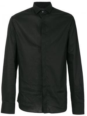 Рубашка с заклепками Philipp Plein. Цвет: чёрный