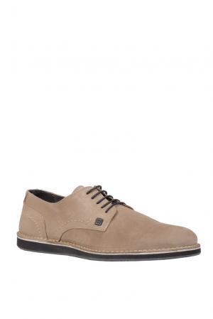 Замшевые ботинки 156206 Cr7 Cristiano Ronaldo. Цвет: бежевый