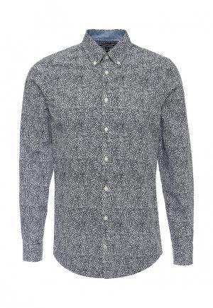 Рубашка Tommy Hilfiger. Цвет: черно-белый