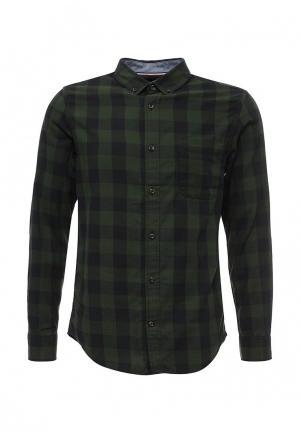 Рубашка Produkt. Цвет: зеленый