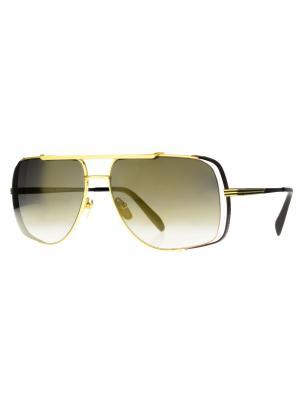 Солнцезащитные очки Dakota Smith. Цвет: бронзовый