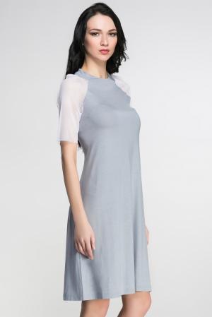 Платье 146148 Firkant. Цвет: синий