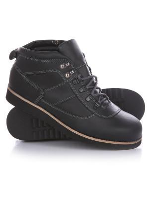 Ботинки зимние Rheinberger Tim Urban Black: мужские, 12245, 40. Цвет: черный