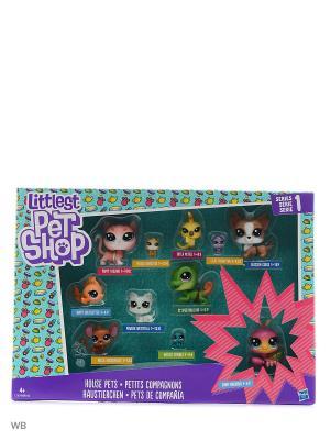 Набор коллекция петов Littlest Pet Shop. Цвет: зеленый, салатовый