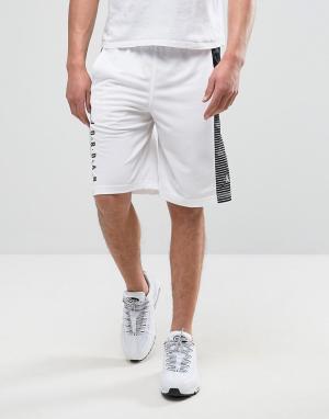 Jordan Белые шорты Nike 831334-100. Цвет: белый