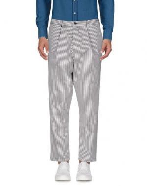 Повседневные брюки IMB I'M BRIAN. Цвет: белый