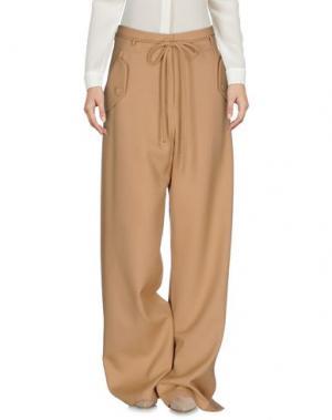 Повседневные брюки SIES MARJAN. Цвет: верблюжий