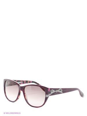Солнцезащитные очки BLD 1406 202 Baldinini. Цвет: фиолетовый, коричневый