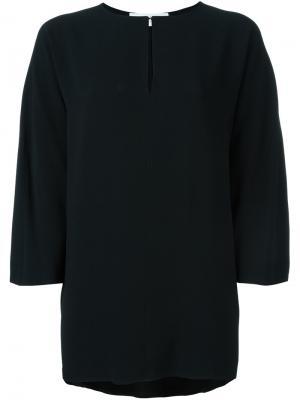 Свободная блузка Gianluca Capannolo. Цвет: чёрный