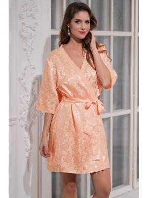 Халат MIA-MELLA. Цвет: персиковый
