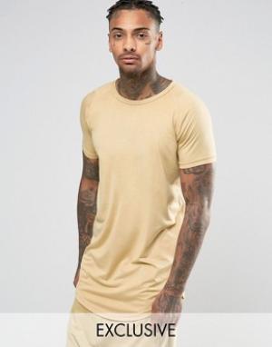 Other UK Удлиненная футболка. Цвет: stone