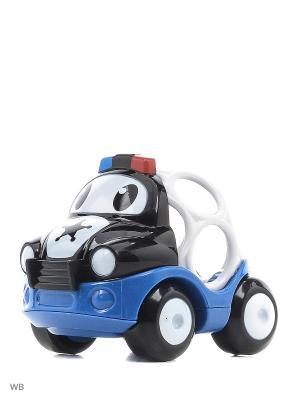 Машинки Только вперед! Полиция (сине/белый) Oball. Цвет: синий, белый