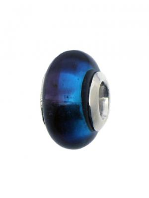 Шарм Кракелаж сине-голубой Sun&Moon Charm. Цвет: голубой, серебристый