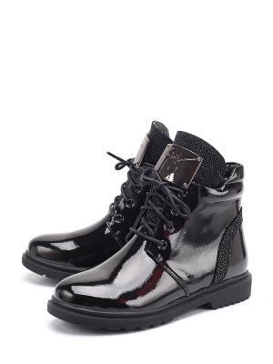 Ботинки Flois. Цвет: черный