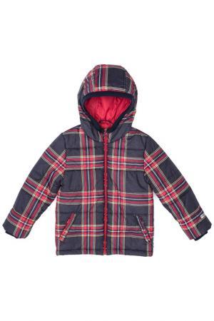 Куртка с капюшоном PlayToday. Цвет: серый, красный, желтый, белый