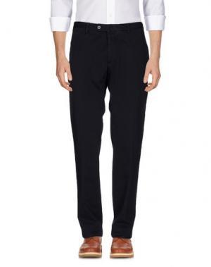 Повседневные брюки DAKS LONDON. Цвет: темно-синий
