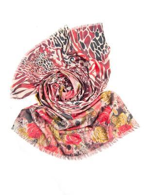 Платок женский, размер 185x70 см Charmante. Цвет: розовый