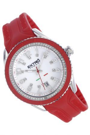 Наручные часы Extro. Цвет: красный