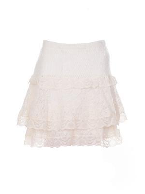 Юбка Anna Rachele (Италия) 504. Цвет: кремовый, бледно-розовый