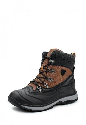 Ботинки трекинговые Luhta. Цвет: коричневый