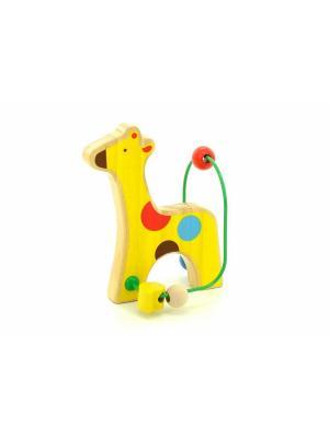 Лабиринт Жираф LUCY&LEO. Цвет: желтый