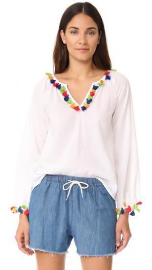 Блуза Mambo PAMPELONE. Цвет: белый