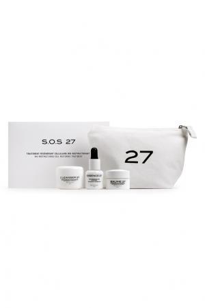 Набор средств для лица SOS 27 Cosmetics. Цвет: multicolor
