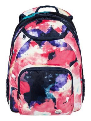 Рюкзак ROXY. Цвет: молочный, бирюзовый, темно-фиолетовый