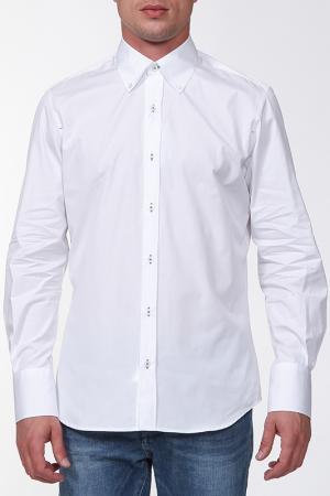Рубашка Cortigiani. Цвет: белый