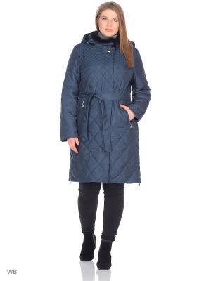 Пальто Chic de Femme. Цвет: зеленый